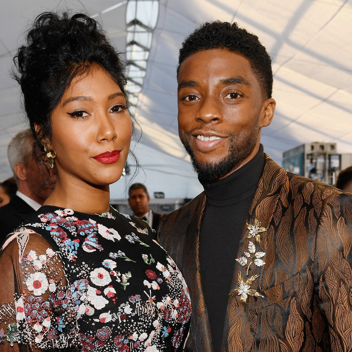 What We Know About Chadwick Boseman And Taylor Simone Ledward's Love Story