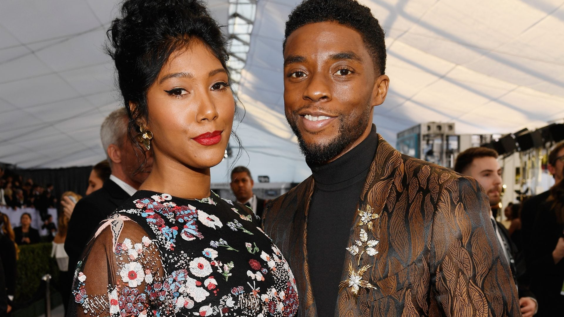 Chadwick Boseman And Wife Taylor Simone Ledward's Love Story In Photos
