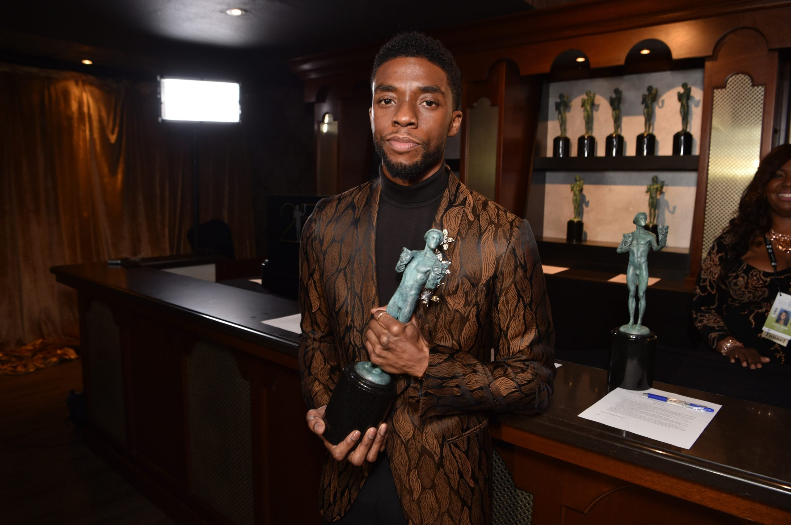 Chadwick Boseman Becomes First Actor Nominated For 4 Film SAG Awards In A Single Year