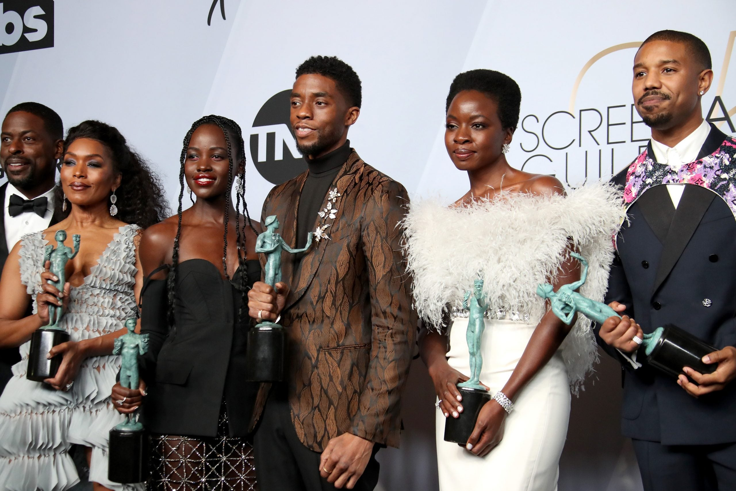 'Black Panther' Cast and Crew React To Chadwick Boseman's ...