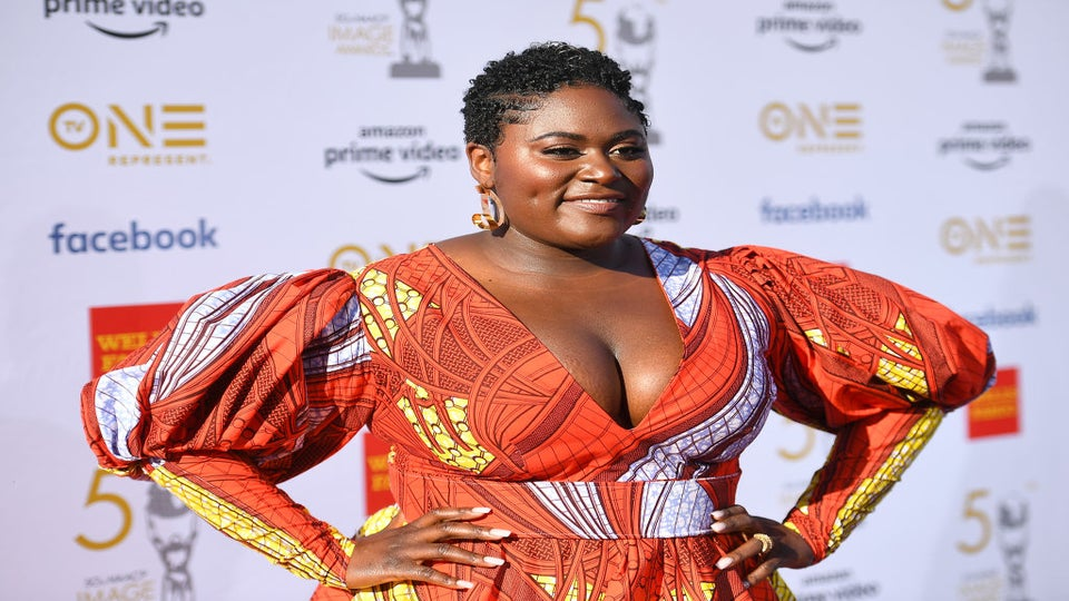 Danielle Brooks Poses Nude to Share Body Positive Post-Baby Weight Gain Message