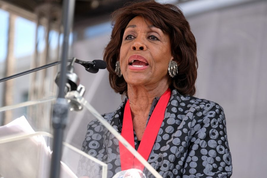 Rep. Maxine Waters On Joe Biden: 'He Can't Go Home Without A Black Woman VP'