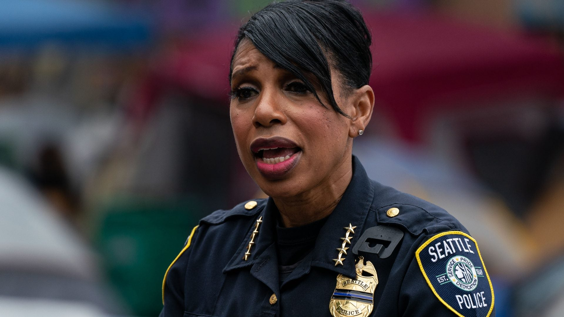 Seattle Police Chief Carmen Best Retiring After City Council Votes To Cut Police Budget