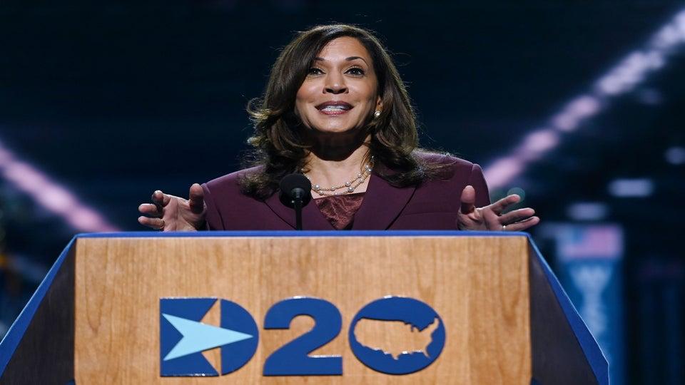 Kamala Harris Formally Accepts Historic VP Nomination
