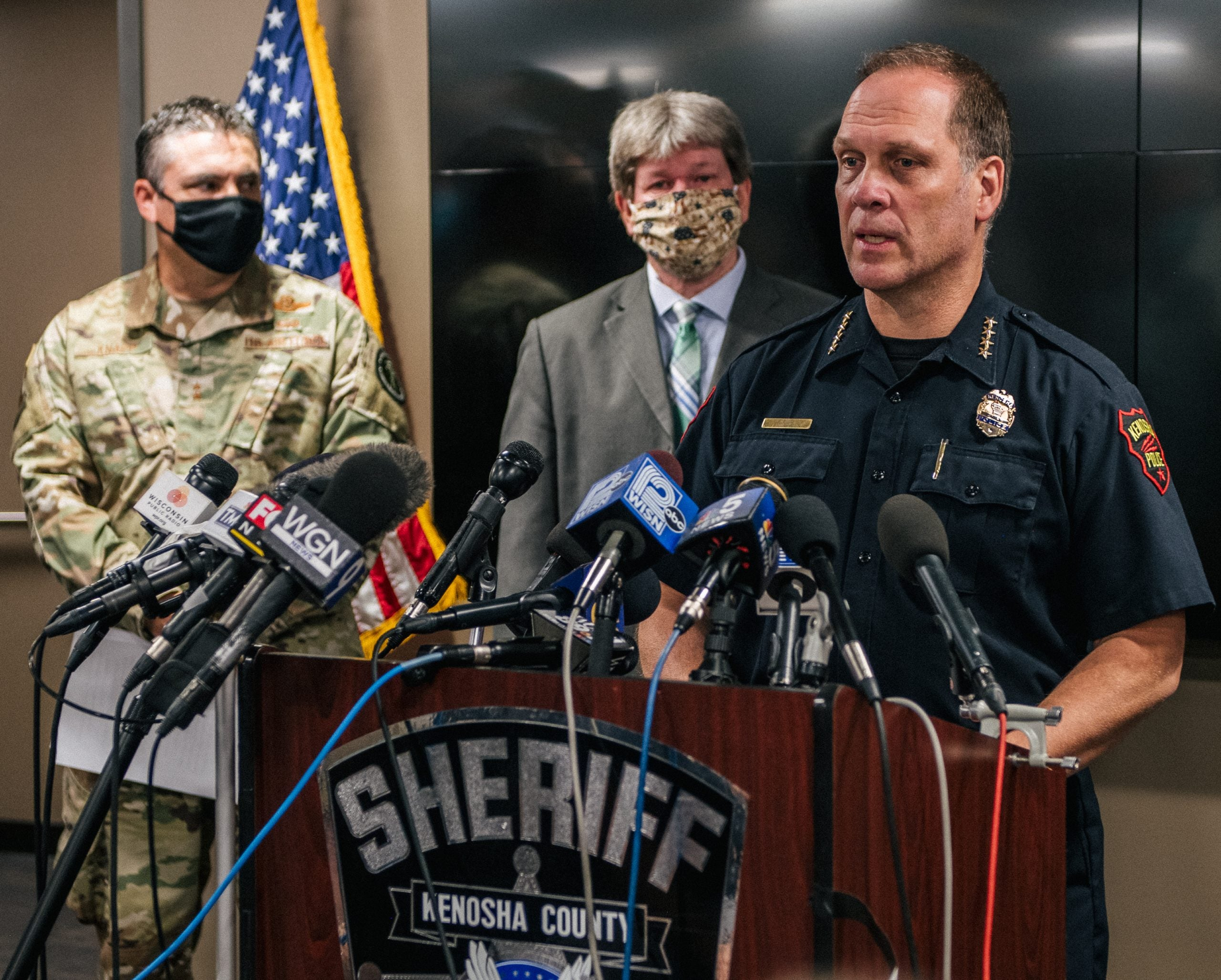Kenosha Police Chief Says Protesters May Not Have Been Shot If They Followed Curfew