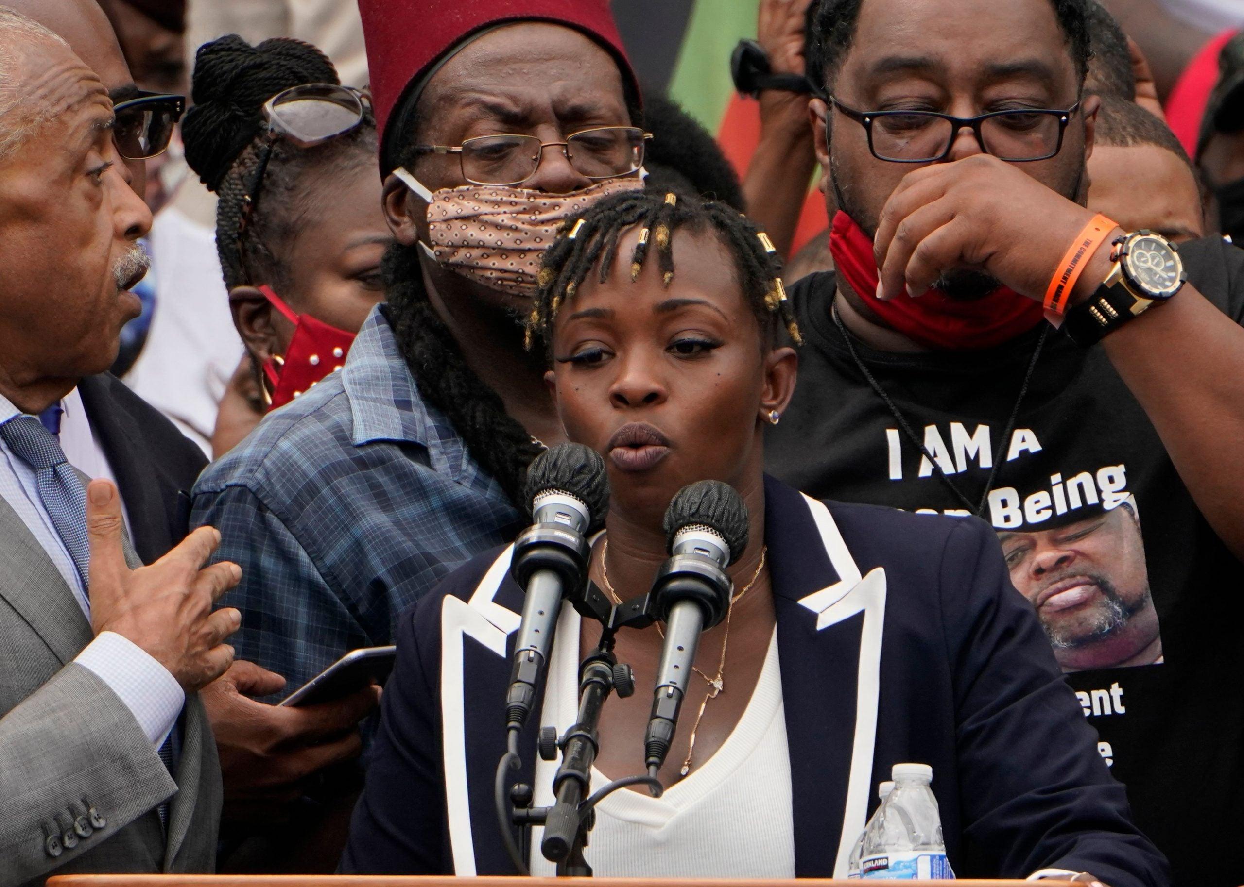 Jacob Blake's Sister During March On Washington: 'Black America, I Hold You Accountable'