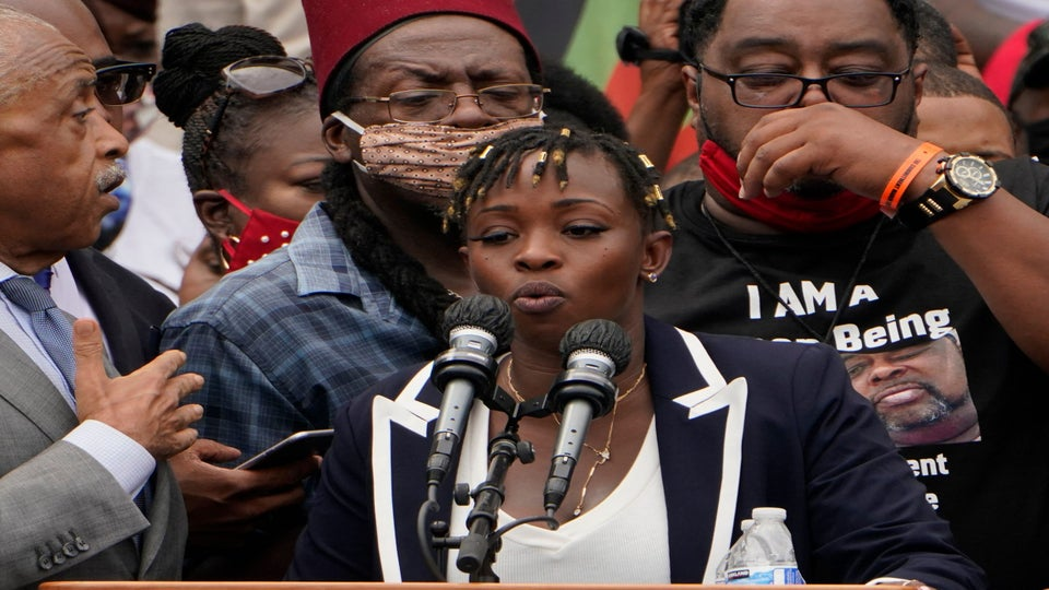 Jacob Blake's Sister During March On Washington: 'Black America, I Hold You Accountable'