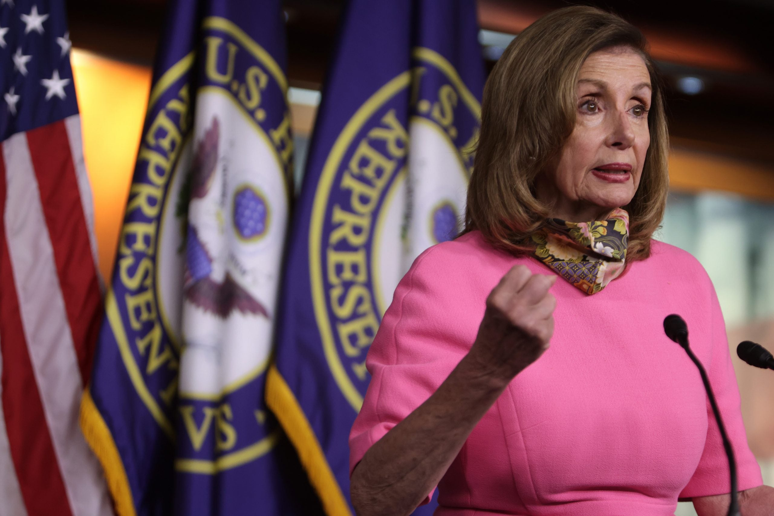 Nancy Pelosi Slams GOP's $250,000 Provision For Country's Food-Insecure Families
