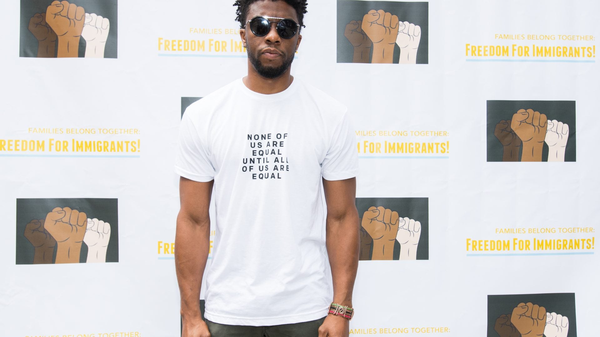Chadwick Boseman's Last Message To Fans: Vote