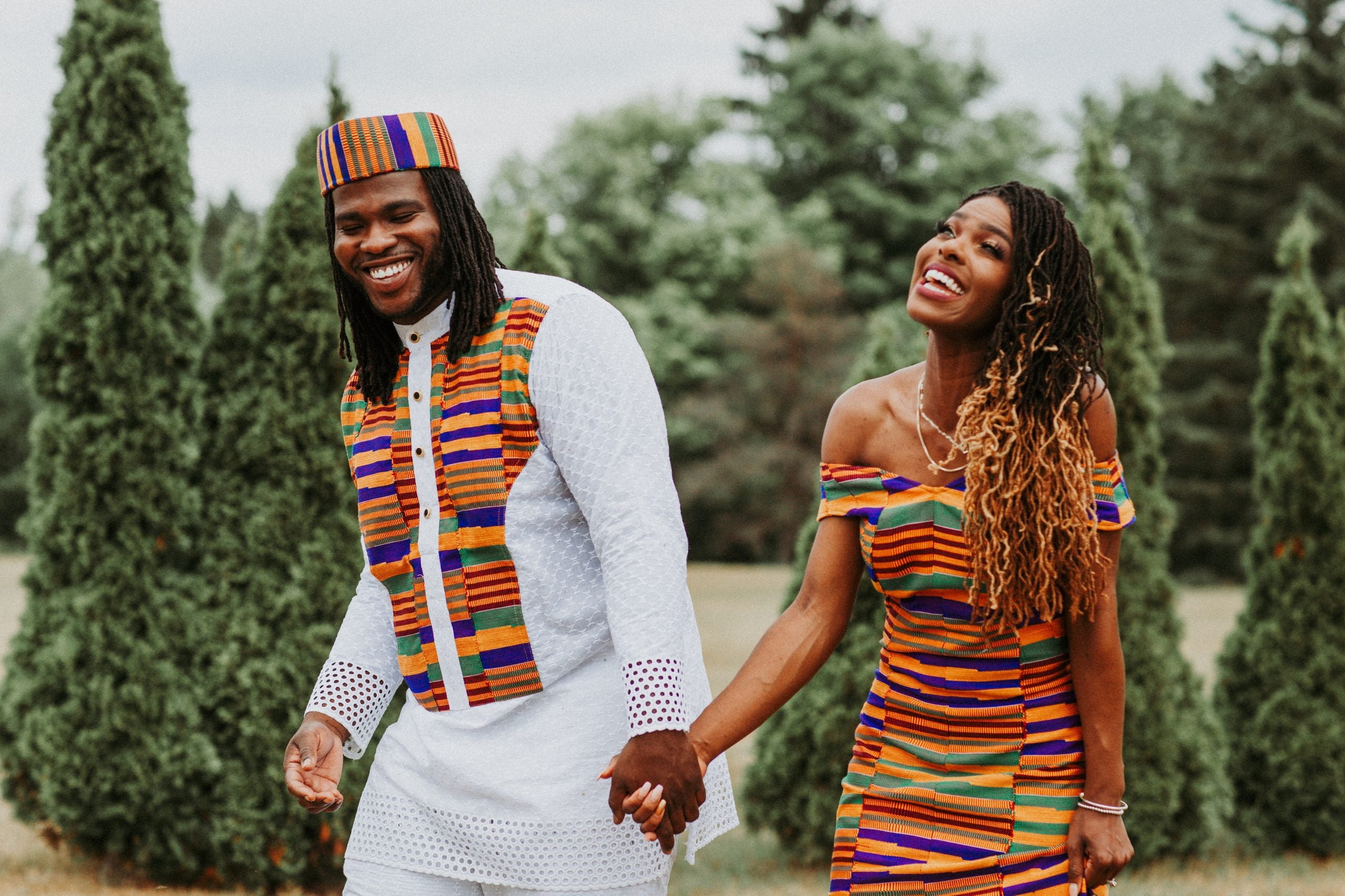 Bridal Bliss: Omega And Andrew Brought Ghanaian Pride To Their Royal Themed Wedding
