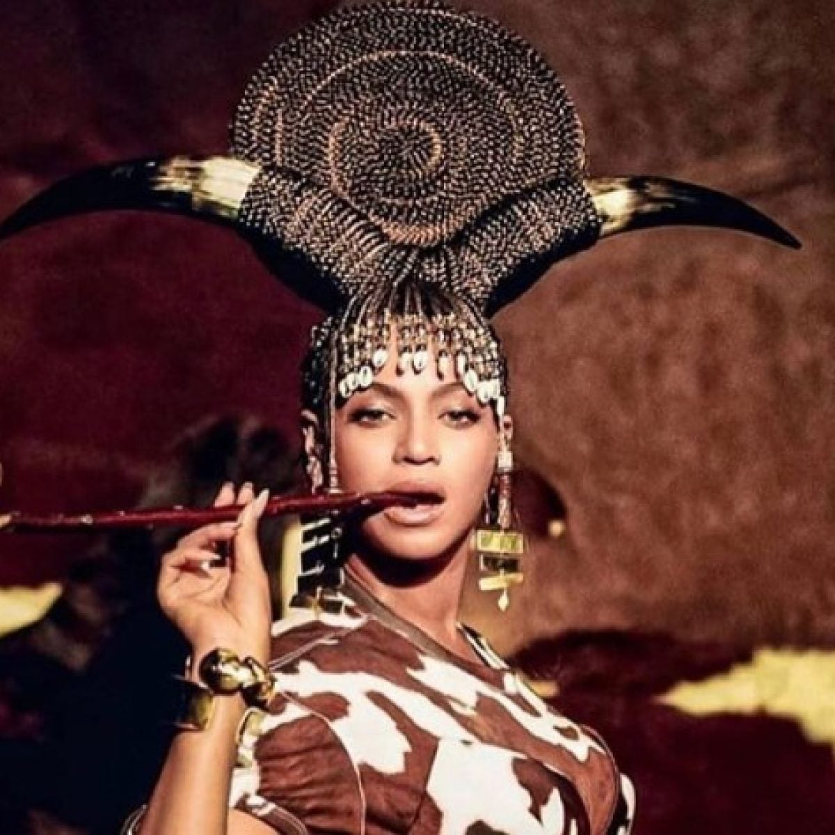 We're Loving These Hair And Makeup Looks Inspired By 'Black Is King'
