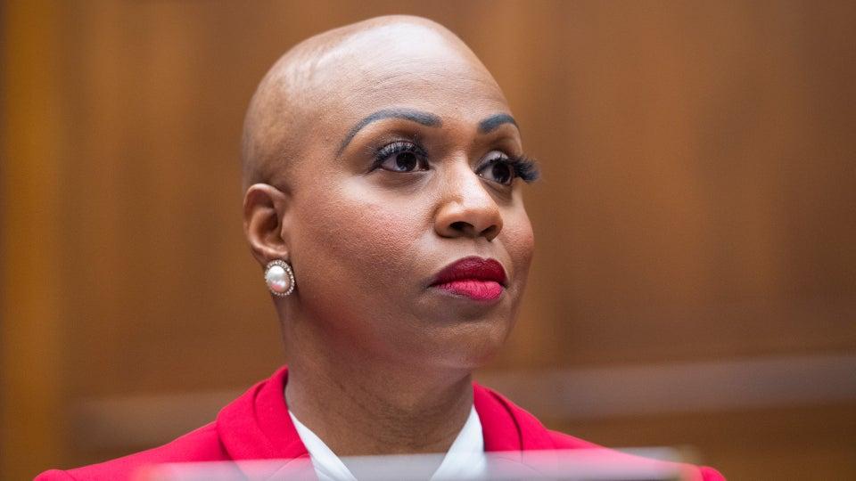 Congresswoman Ayanna Pressley Is Beauty Goals