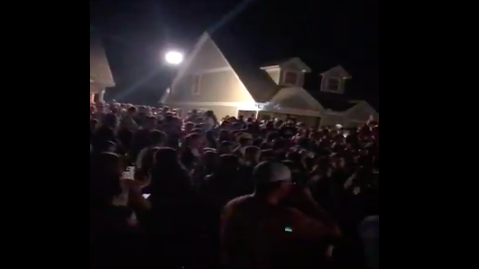 Video Shows Large Party At Off-Campus Housing Near University of North Georgia