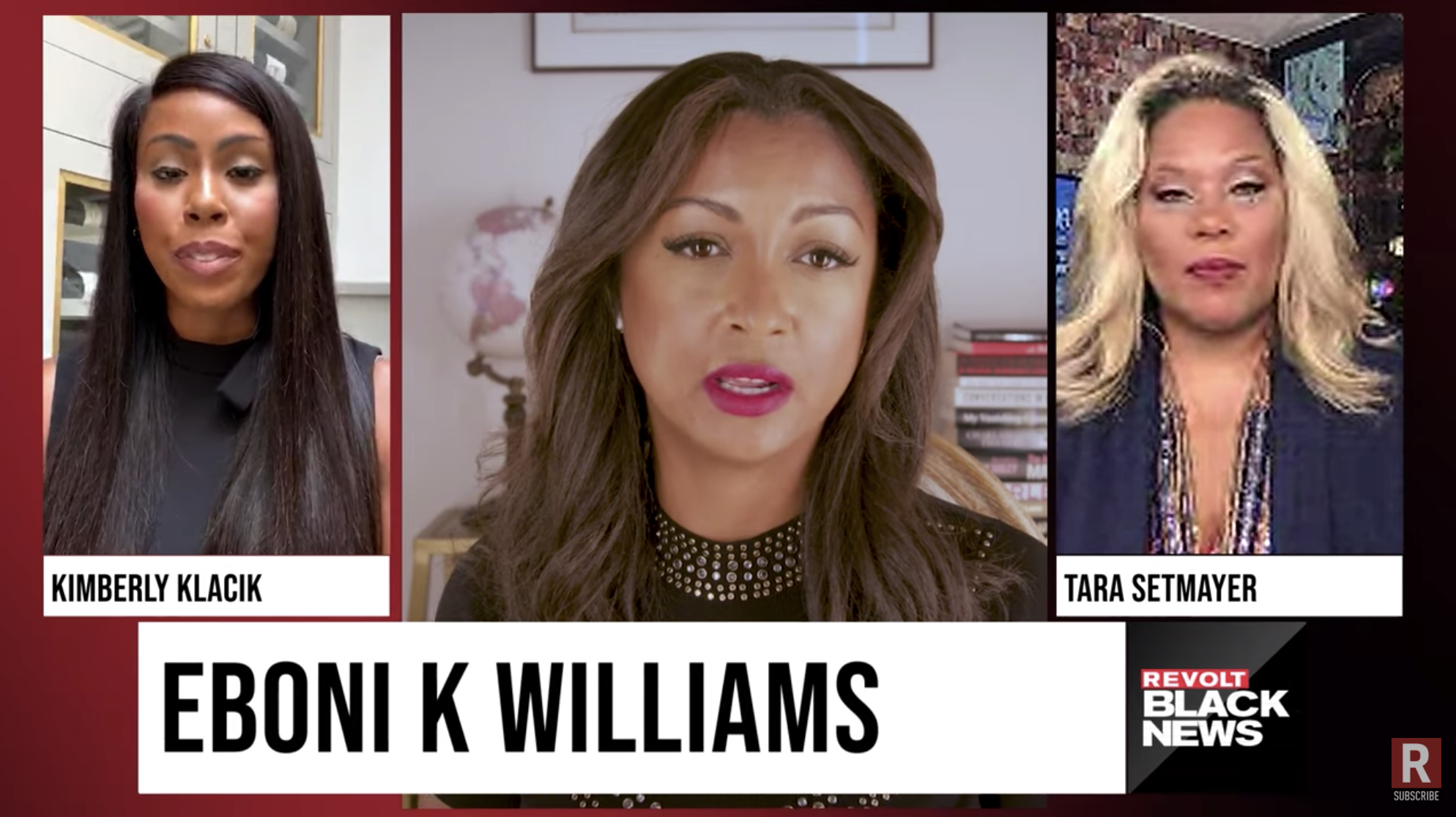 Republican candidate Kim Klacik joins Revolt Black News host Eboni K. Williams and conservative pundit Tara Setmayer for a discussion that delves into Black conservatism.