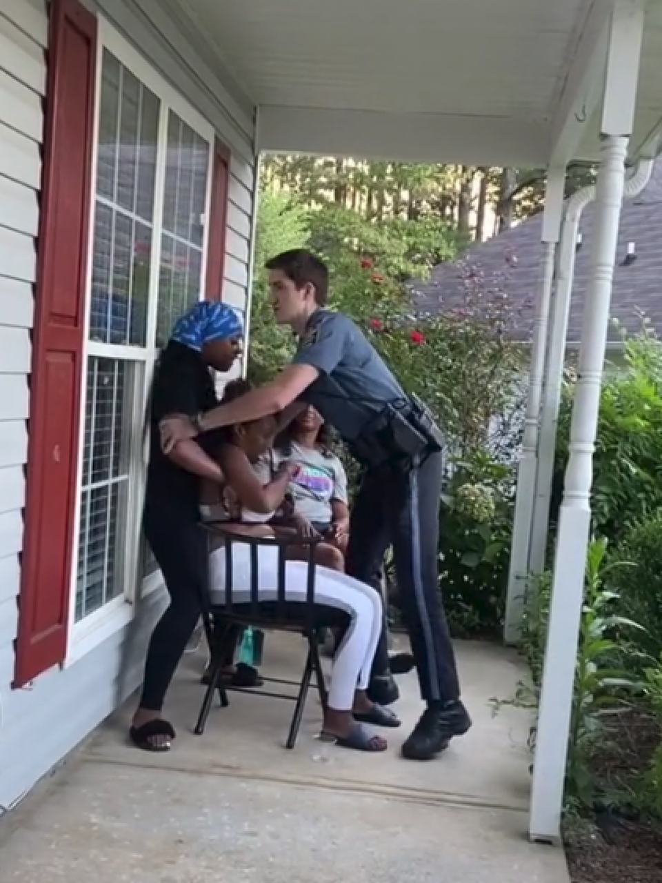 Georgia Cop On Desk Duty After Arresting, Tasing Woman On Porch