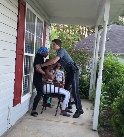 Georgia Cop On Desk Duty After Arresting, Tasing Woman On Porch