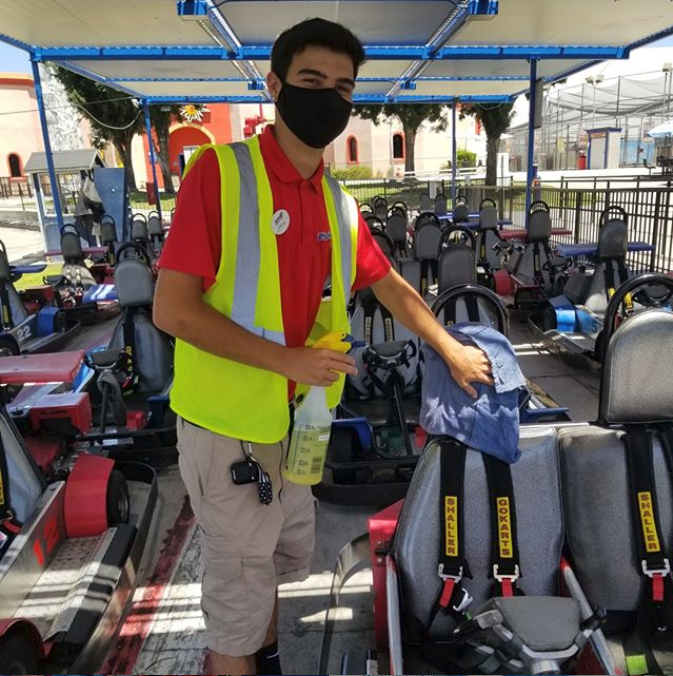 Boomers parks go-karts where a Florida woman hit a young boy