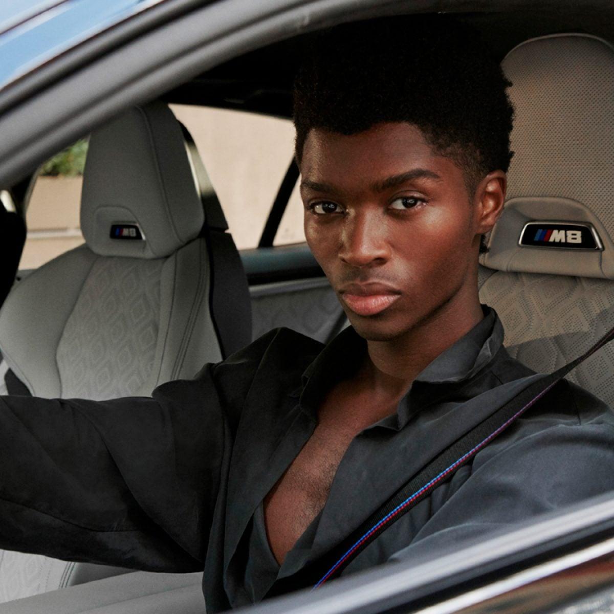 How BMW Partnered With Model Alton Mason During A Virtual NYFW