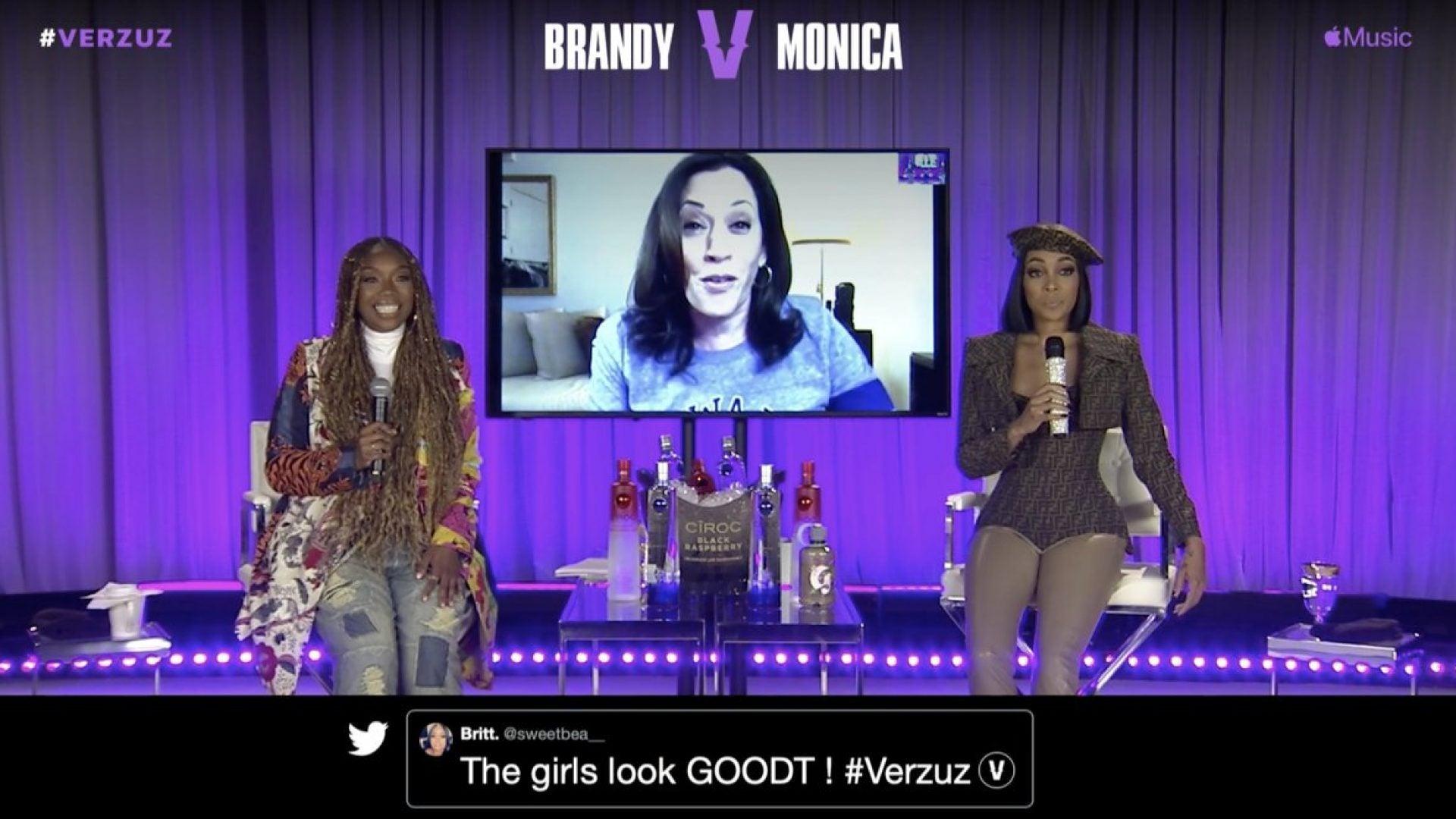 Kamala Harris Kicks Off Monday Night's Verzuz Battle