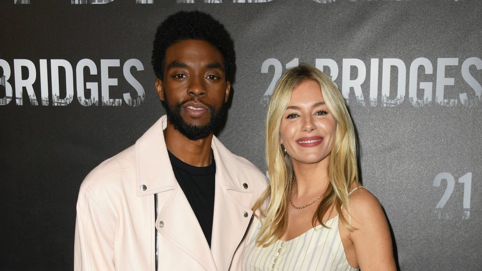 Chadwick Boseman Took A Pay Cut To Get '21 Bridges' Costar Sienna Miller Paid Her Worth