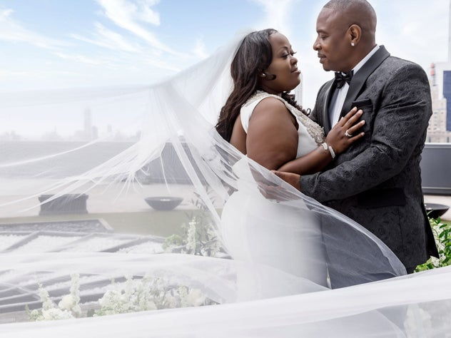 Bridal Bliss: Sharisse And Thurman's New York City Wedding