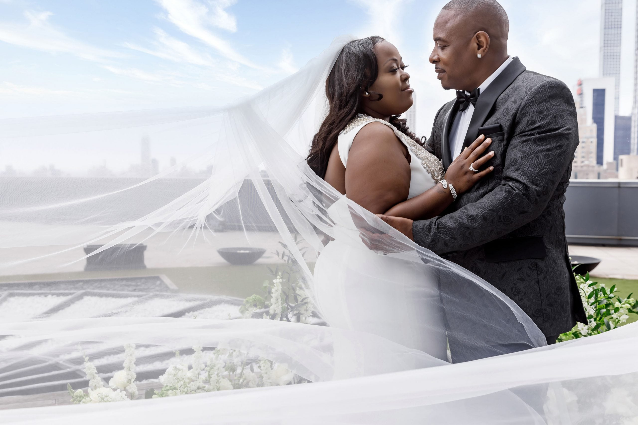 Bridal Bliss: Sharisse And Thurman's Big Apple Wedding Took Us To New Heights