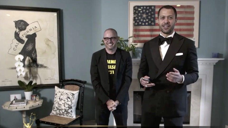 'Watchmen's' Cord Jefferson Thanks His Therapist During Emmys Acceptance Speech