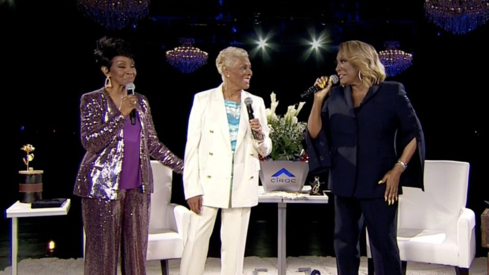 Dionne Warwick Makes Surprise Appearance During Patti LaBelle & Gladys Knight's Verzuz Battle