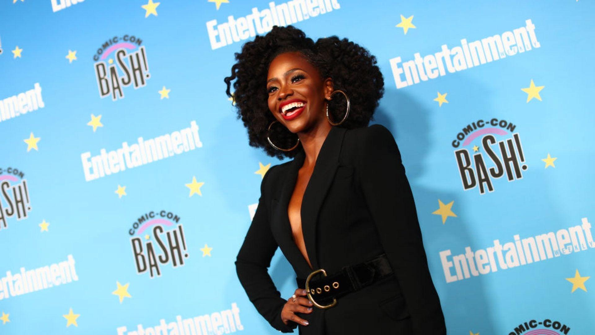 First Look: Teyonah Parris As Superhero Monica Rambeau In Marvel's 'WandaVision'