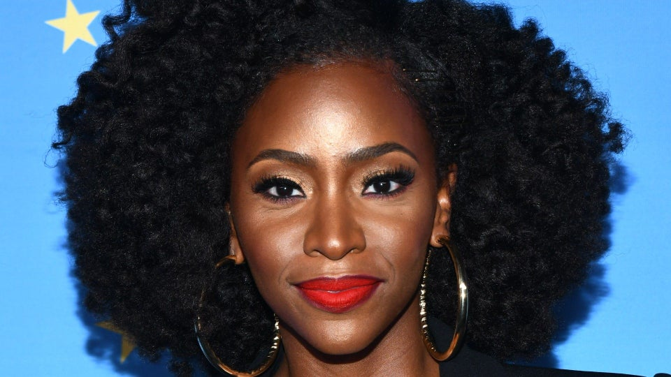 Teyonah Parris Shares Her Quarantine Hair Journey In Photos
