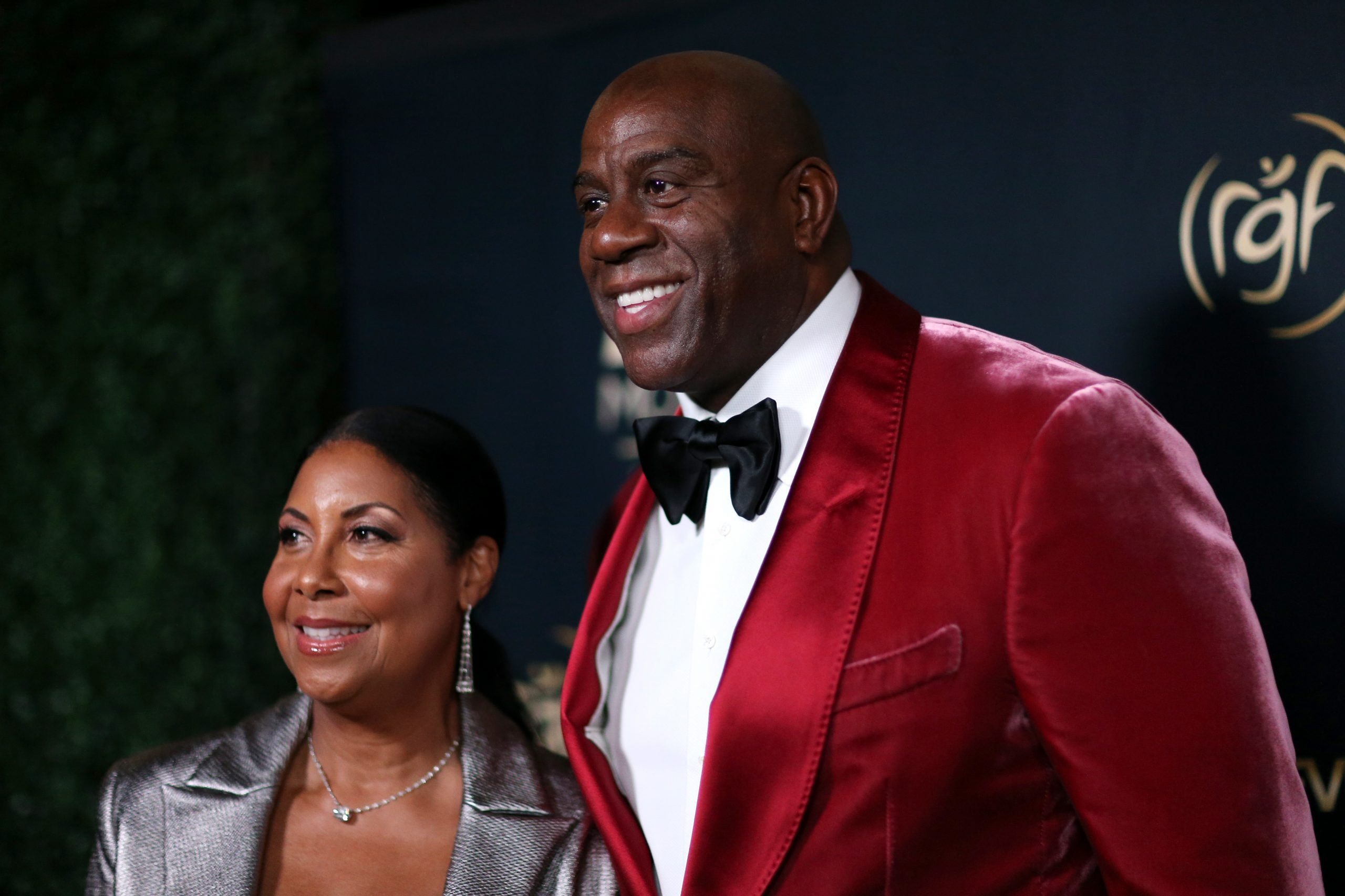 Magic Johnson Calls His Wife Cookie 'A Gift From God' On Their 29th Wedding Anniversary