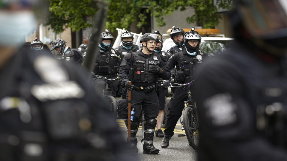 Seattle Police Officer On Leave After Rolling Bike Over Protester's Head