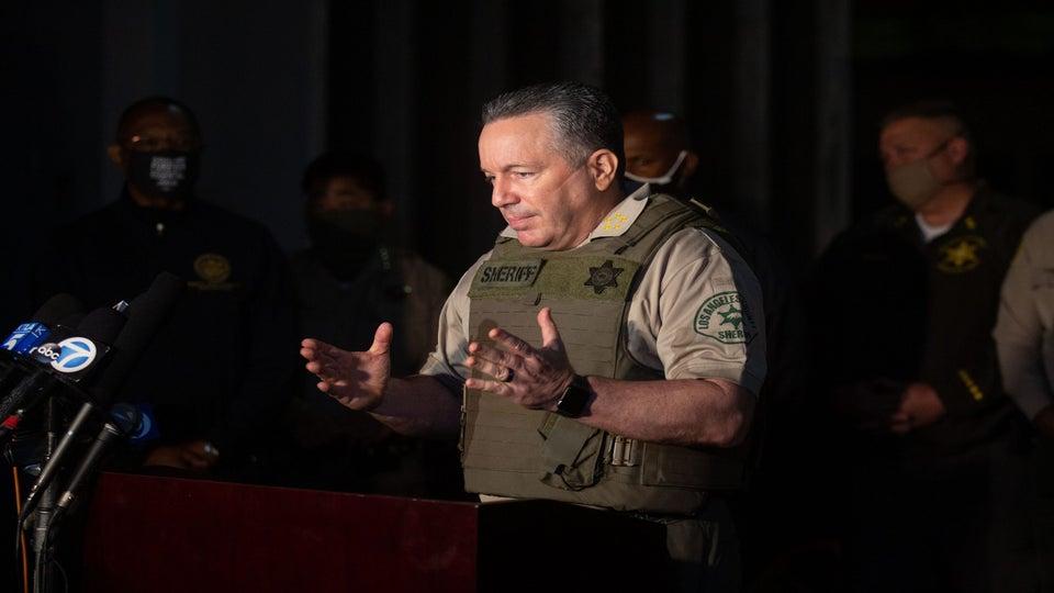 L.A. County Sheriff Calls On LeBron James To Match Reward For Gunman Who Ambushed Deputies