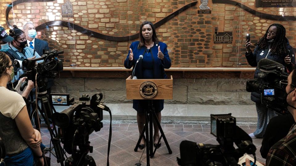 NY AG Letitia James Announces Body Camera Reforms Following Daniel Prude's Death