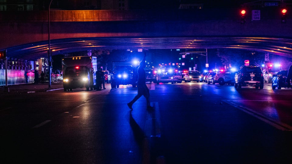 2 Louisville Officers Shot Amid Protests, Suspect In Custody