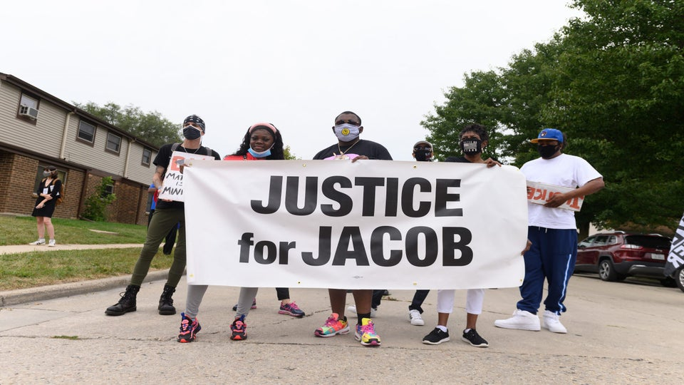 Jacob Blake's Family Hosts Block Party And Rally Amid Trump's Visit