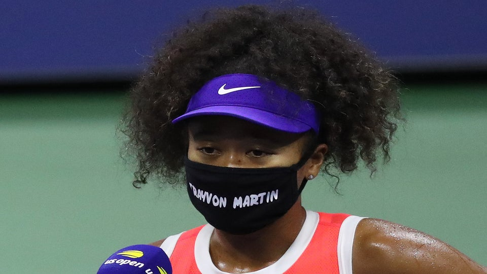 Parents Of Trayvon Martin, Ahmaud Arbery Thank Naomi Osaka For Wearing Masks During U.S. Open