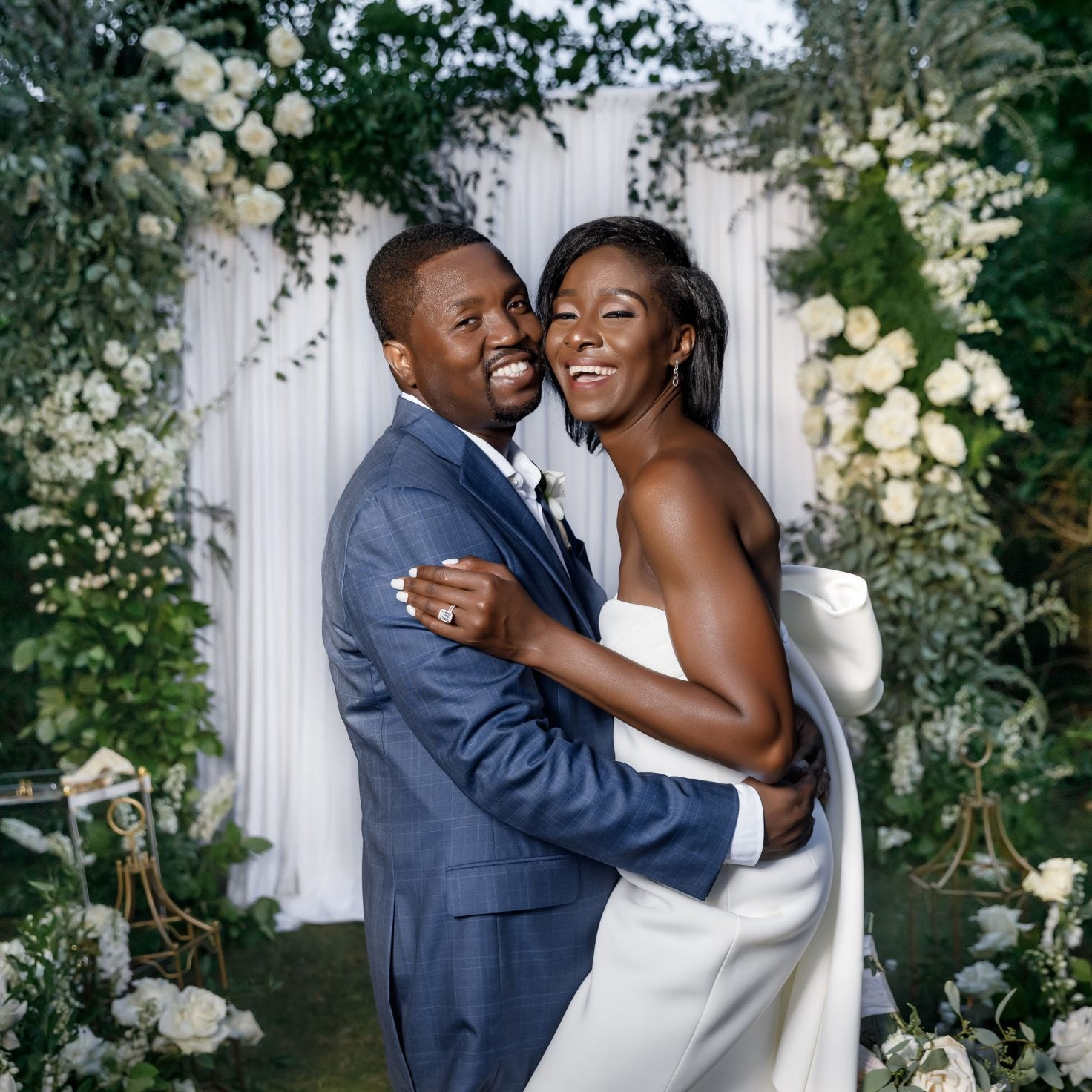 Bridal Bliss: Mills And Johanne's Vow Renewal Was A Family Affair