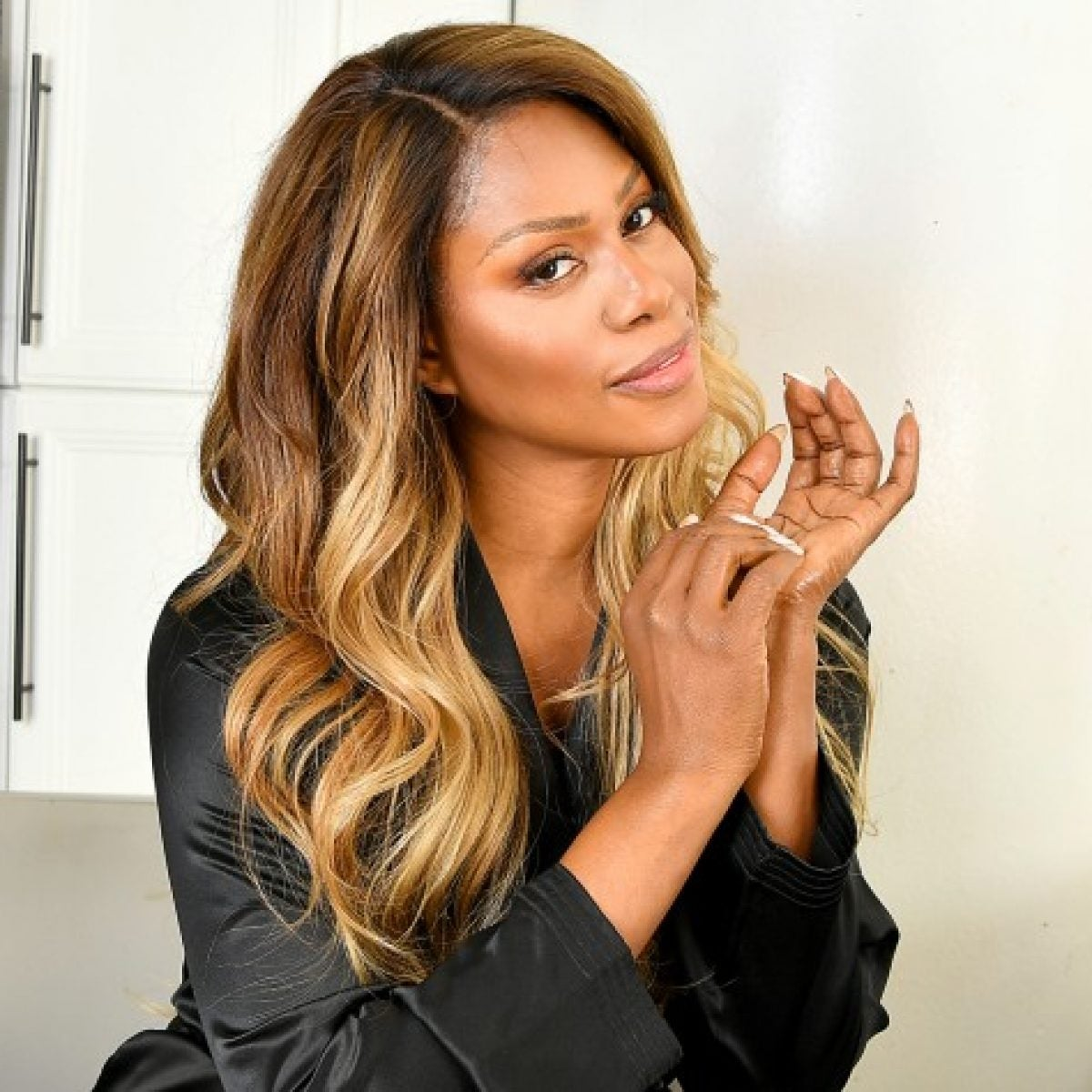 Laverne Cox Talks New Gold Bond Campaign, The Emmys And 'Bad Hair' Days