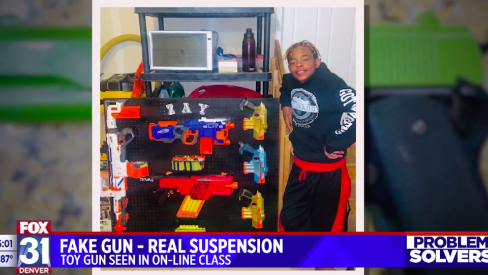School Called Police On Black 12-Year-Old Playing With Toy Gun During Online Class