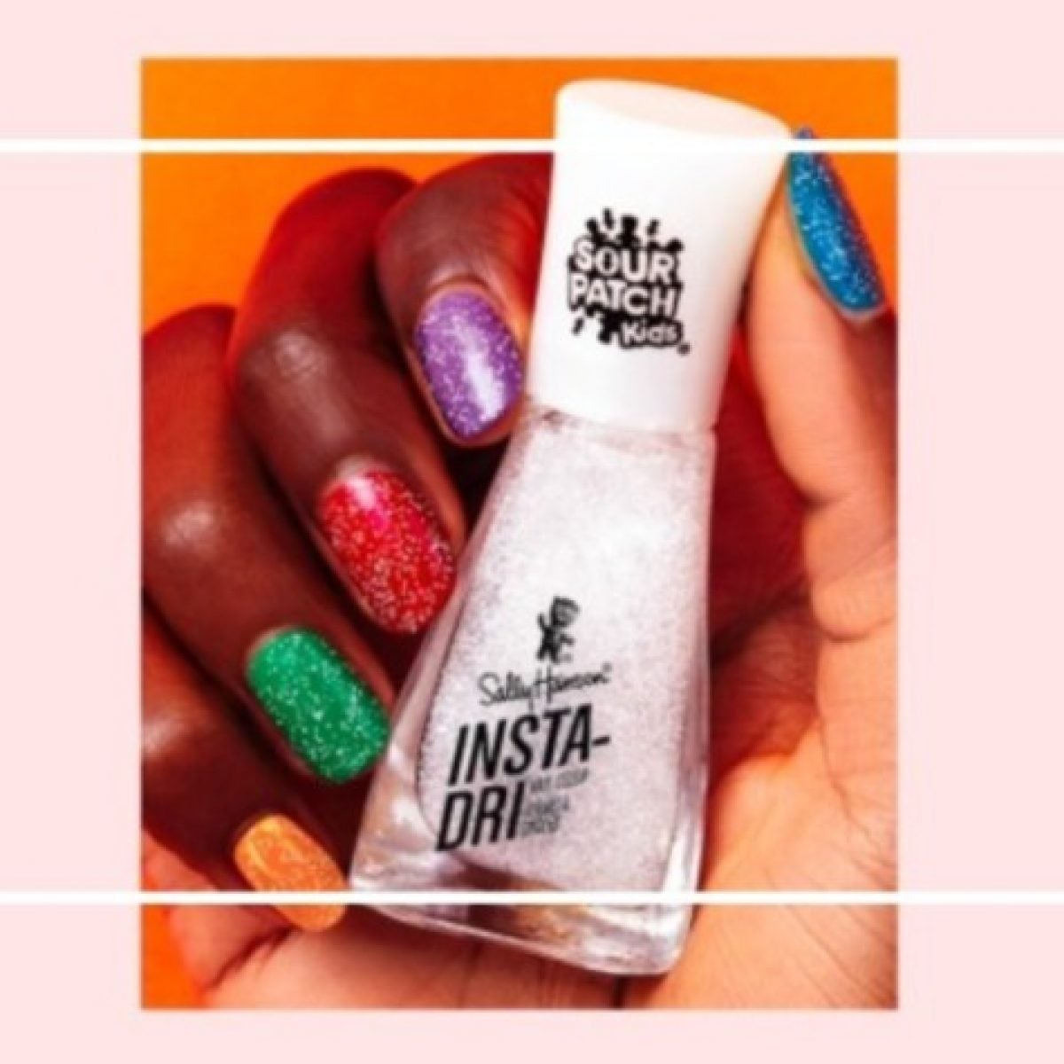 A Sour Patch Kids–Inspired Nail Polish Collection Is Finally Here