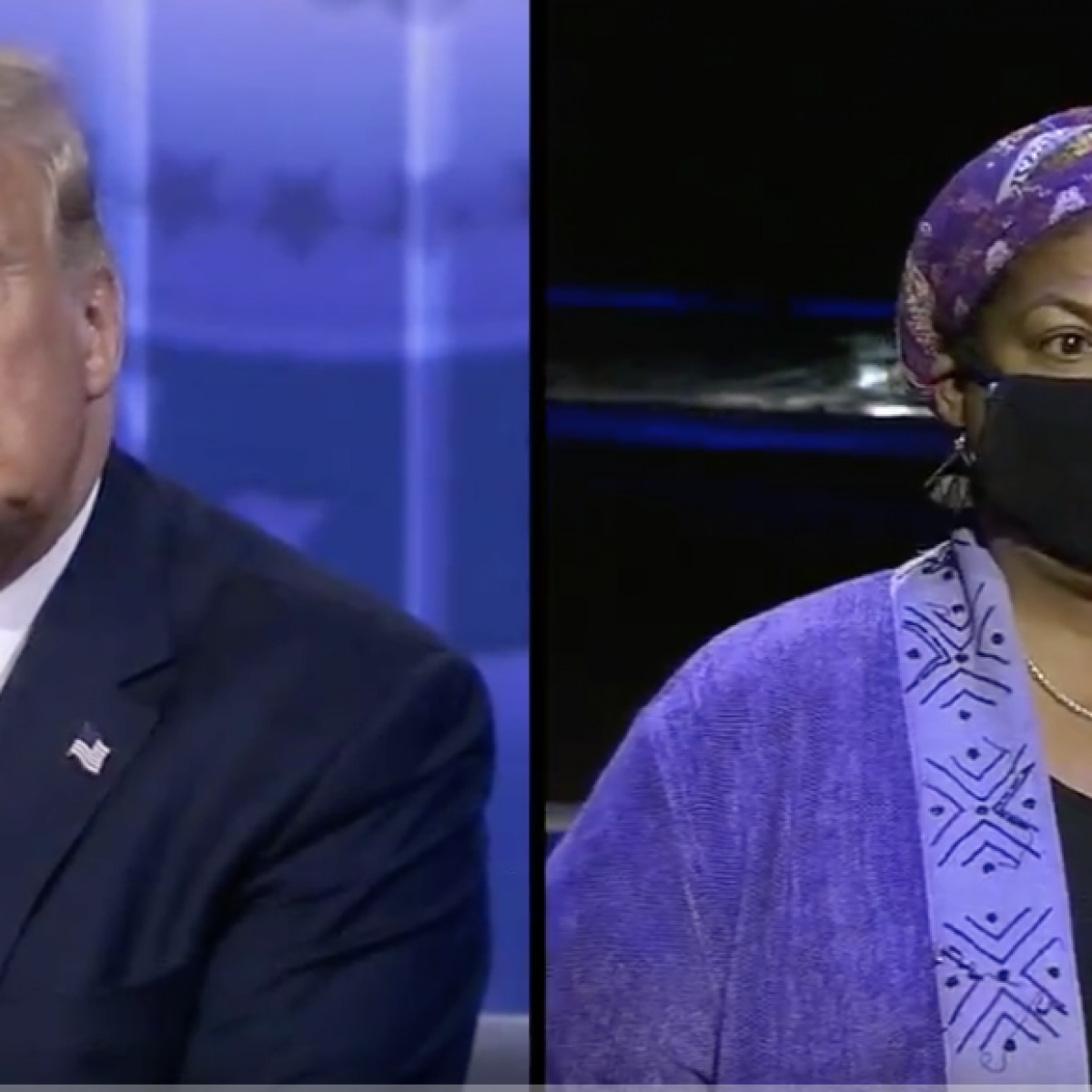 Donald Trump Faces Tough Questioning From Undecided Black Voters