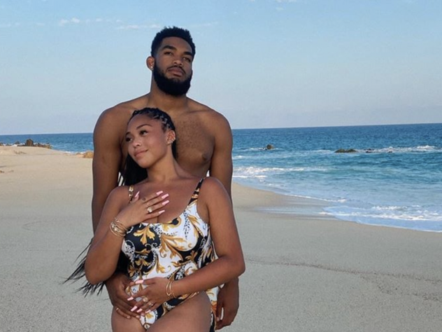 Jordyn Woods Reveals She's Dating NBA Player Karl-Anthony Towns