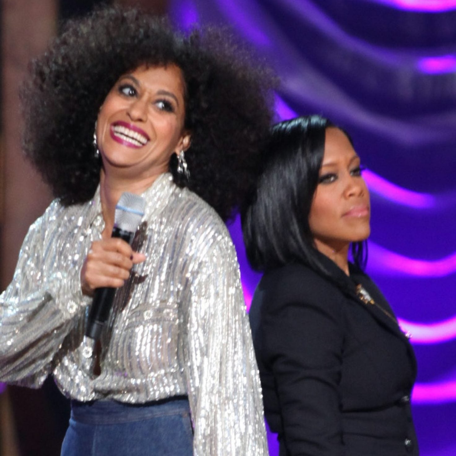 Watch Tracee Ellis Ross, Sanaa Lathan, Alfre Woodard And Regina King Become Black Golden Girls