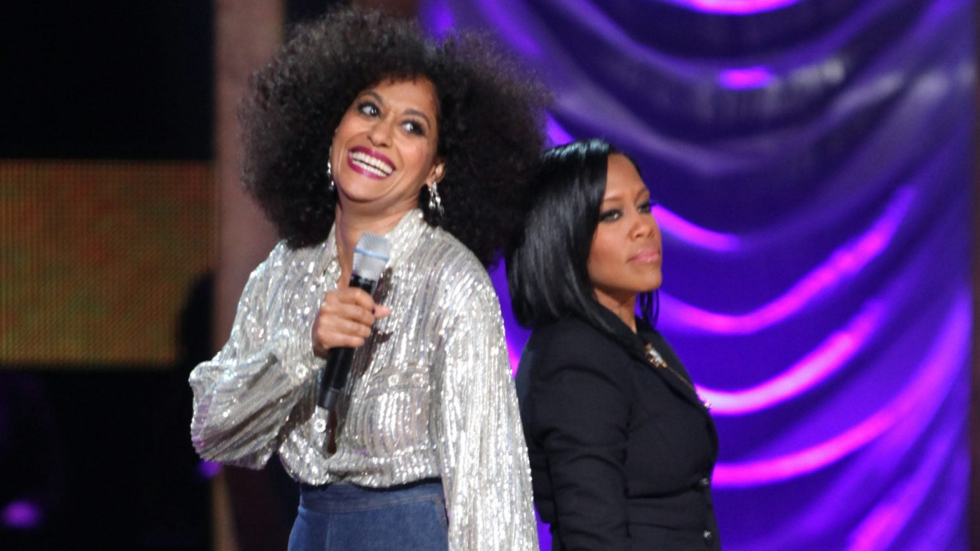 Watch Tracee Ellis Ross, Sanaa Lathan, Alfre Woodard And Regina King Become Black 'Golden Girls'