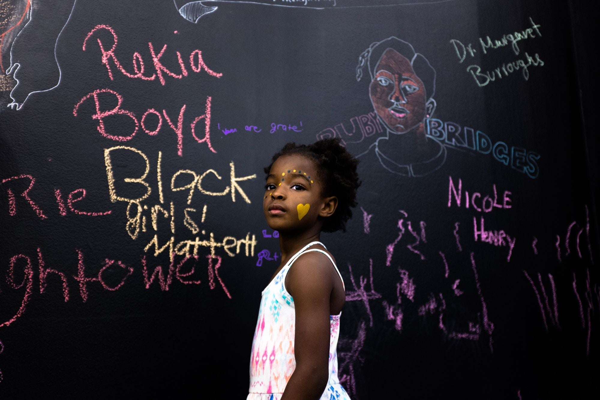 1 Billion 4 Black Girls, Invest in Black girls.