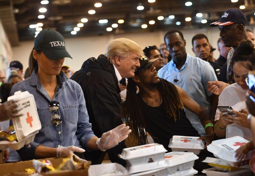 Black men -Trump