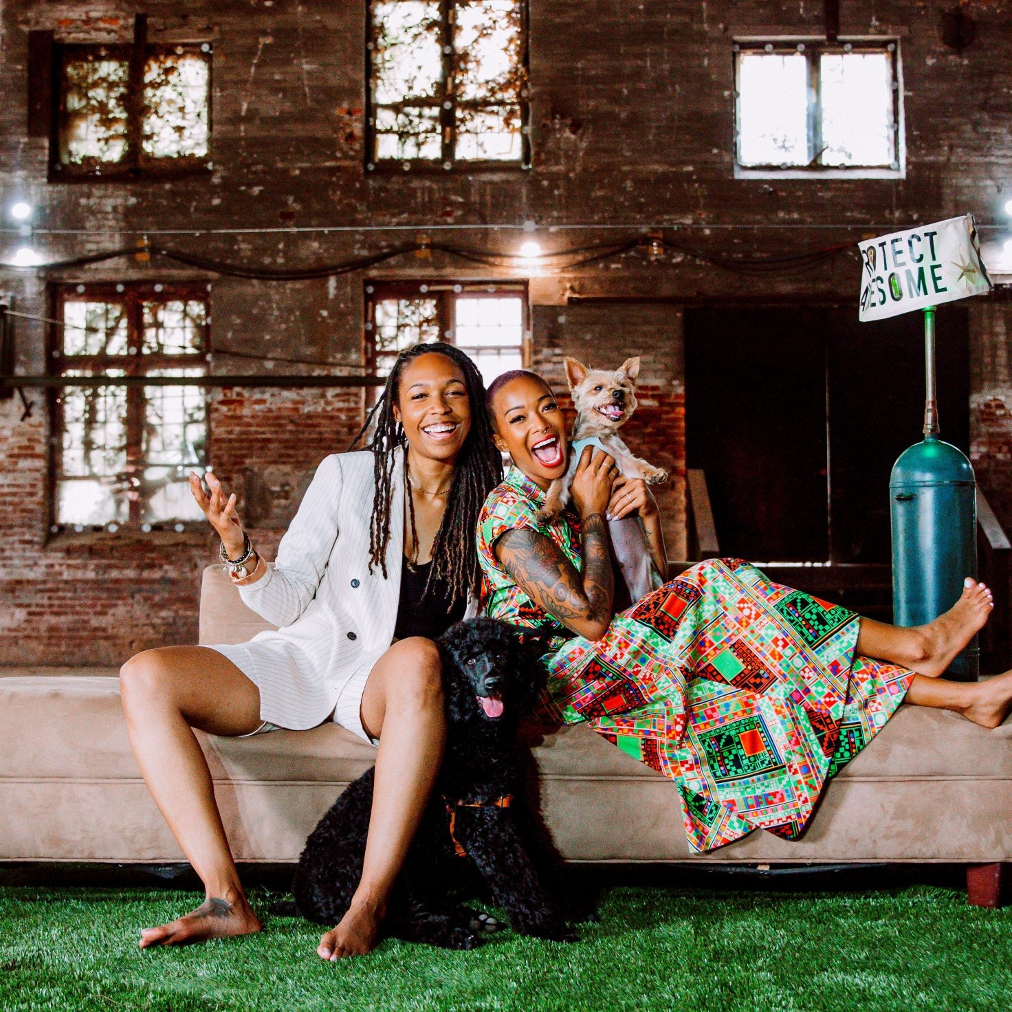 Meet The Adorable Couple and Pups Behind A New CBD Lifestyle Brand With Heart and Soul