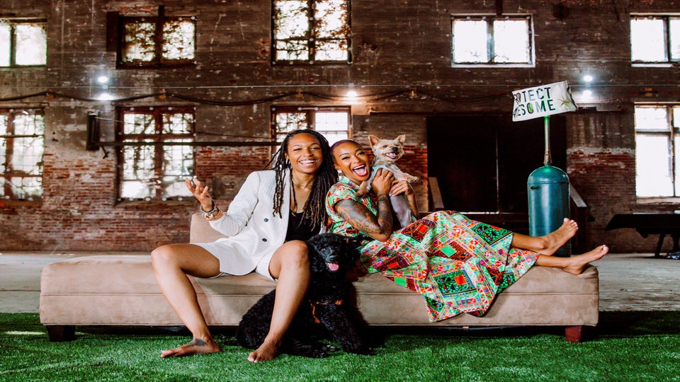 Meet The Adorable Same-Gender Couple and Pups Behind A New CBD Lifestyle Brand With Heart and Soul