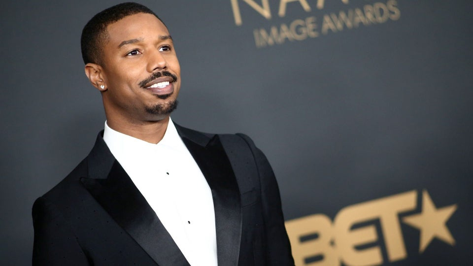Michael B. Jordan Shares Sexy Photo To Encourage His Fans to Vote